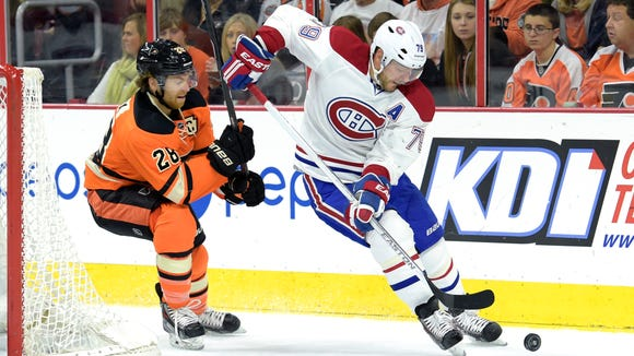 Claude Giroux and the Flyers are looking to get back in the win column after a poor California roadtrip.