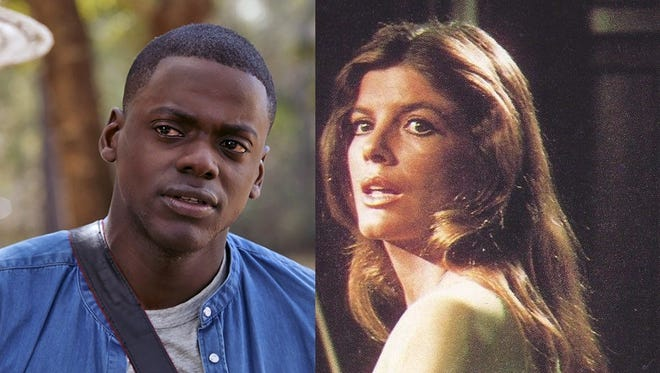 """Daniel Kaluuya stars in """"Get Out"""" (2017); Katharine Ross stars in """"The Stepford Wives"""" (1975)."""