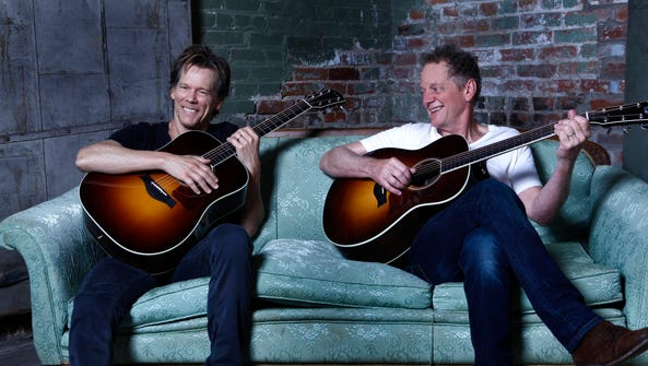 The Bacon Brothers, Kevin, left, and Michael.