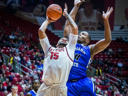 Ball State's Franko House struggles against Indiana