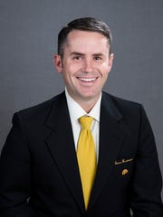 Tyler Barnes has served as director of recruiting for the Iowa football team since April 28. The son-in-law of coach Kirk Ferentz is being paid $85,000 this year.