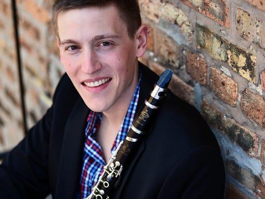 Samuel Rothstein plays assistant principal clarinet