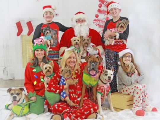 Santa Visit – Missy Mosby, well known for her passion
