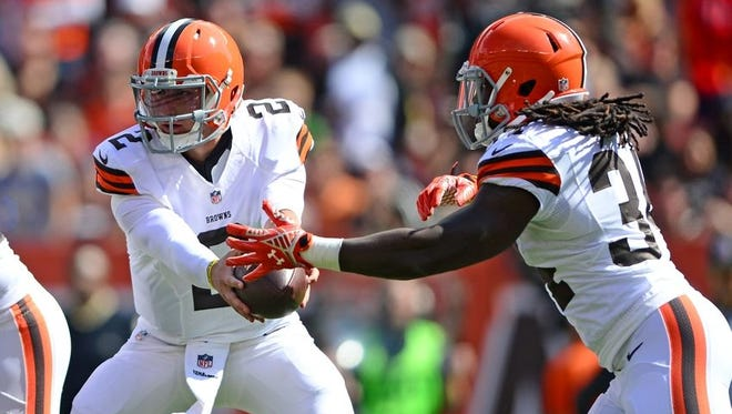 Will Johnny Manziel and Isaiah Crowell share the backfield as starters soon?