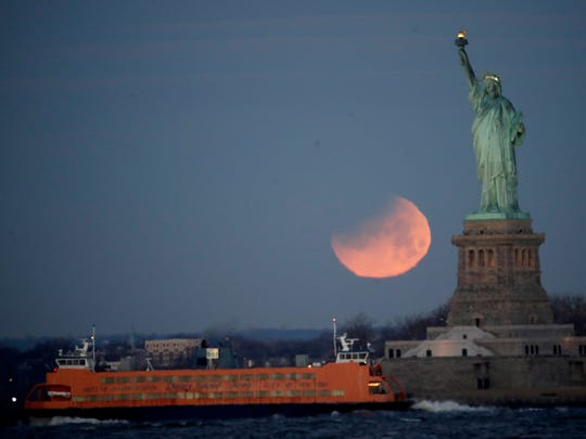 The Statue of Liberty and the Staten Island Ferry are