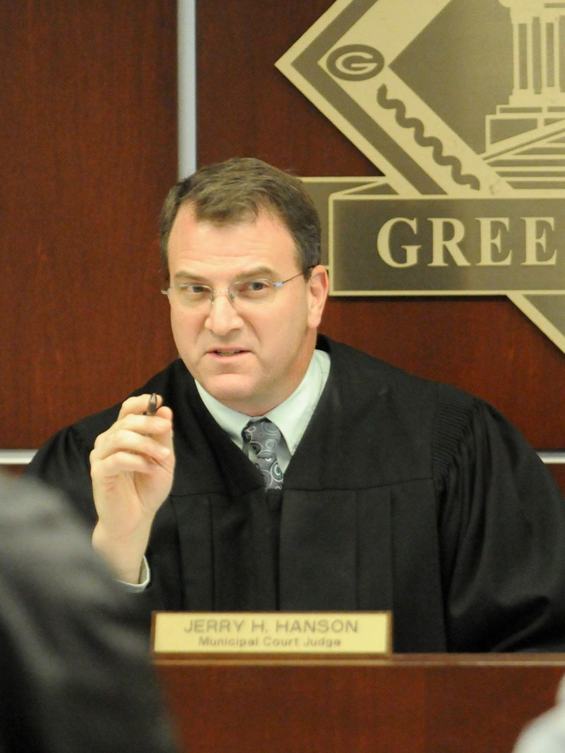 Green Bay Municipal Court Judge Jerry Hanson.