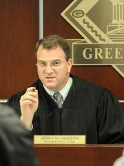 Green Bay Municipal Court Judge Jerry Hanson.
