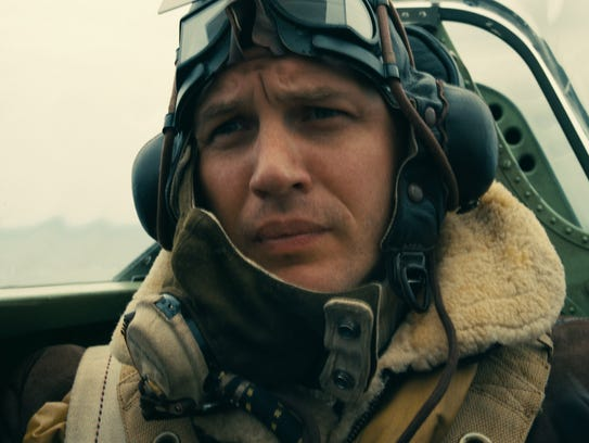 Tom Hardy stars as the pilot of a Royal Air Force Spitfire