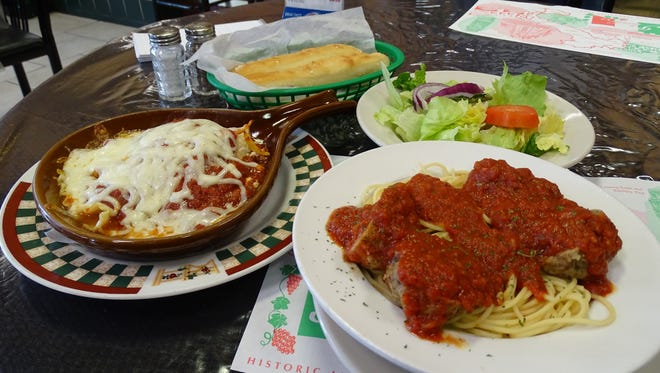 Picnic Pizza Italian Eatery has been open 25 years. The lasagna and spaghetti and meatballs, made with homemade marinara sauce, are customer favorites.