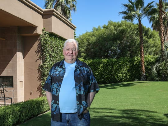 Tom Reiser lives in the Bella Monte neighborhood in Palm Springs. He bought the land under his house this year.