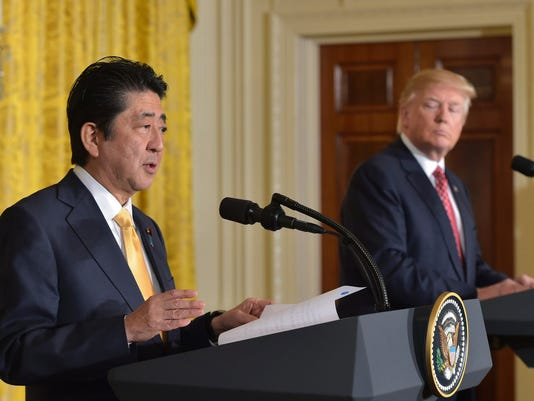 US-JAPAN-TRUMP-ABE-CONFERENCE