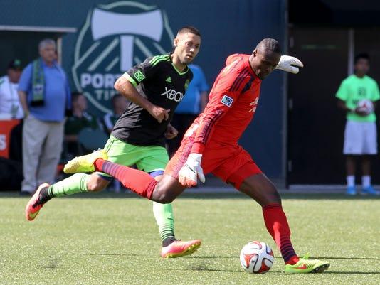 MLS Sounders Timbers _Davi