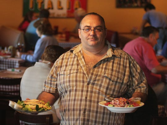 Graziano Buccini of Nino's Restaurant & Pizzeria in south Fort Myers.