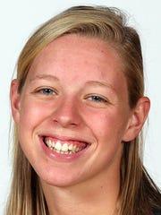 Niagara swimmer Julia Casolo (Dallastown)