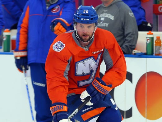 Thomas Vanek, Canadiens. Montreal didn't have to pay too steep a price -- second-round pick and prospect Sebastian Collberg-- but the Canadiens will gladly take it. Vanek boosts a weak offense, immediately becoming their top point producer (21 goals, 53 points.)