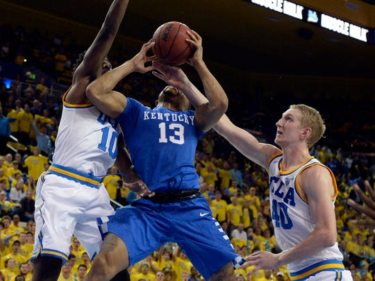 Kentucky guard Isaiah Briscoe returns in 2016-17, as