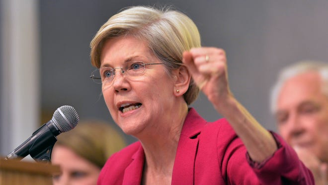 Sen. Elizabeth Warren, D-Mass., will speak to liberal donors this week.