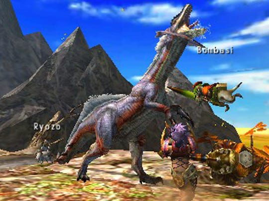 "Ample resources make hunting a lot easier in ""Monster Hunter 4 Ultimate."""