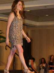 Kaitlan Alford, 23, communications coordinator for the Diabetes Foundation of Mississippi, first walked the runway at the foundation's Ultimate Fashion Show and Champagne Brunch in Jackson. Alford, who has Type 1 diabetes, still participates in the event that raises money for  the foundation's children's programs.
