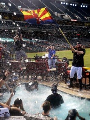 Sept. 24: Arizona Diamondbacks relief pitcher Archie