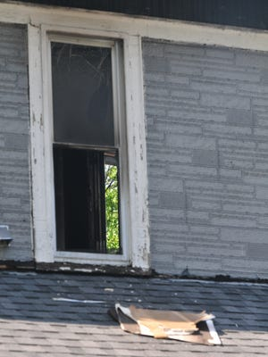 A candle sparked a fire Friday morning in a West Main Street apartment.