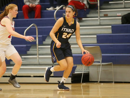 Ithaca College senior Julie Yacovoni (Maine-Endwell)