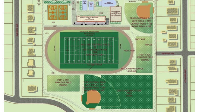Collingswood High School would get a new stadium and other improvements under a $14.4-million proposal.
