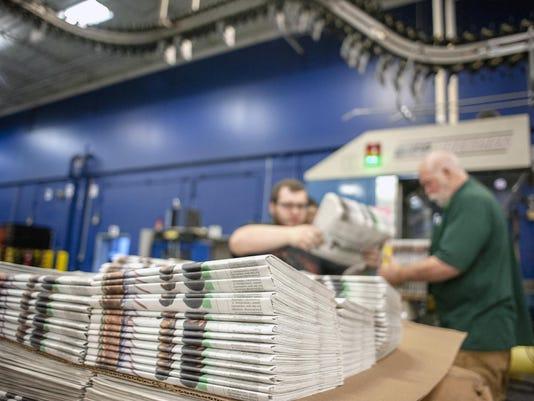 Tariffs Newspapers