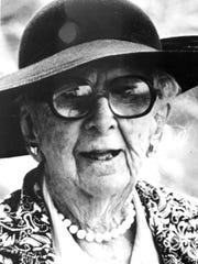 Marjorie Stoneman Douglas, jounalist and environmentalist