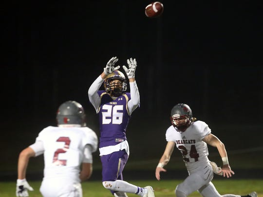 Kai Warren was also a first-team all-league football player at North Kitsap.