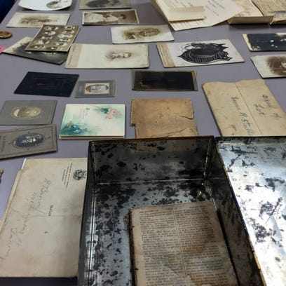 Mementos dating back to Civil War found, family sought
