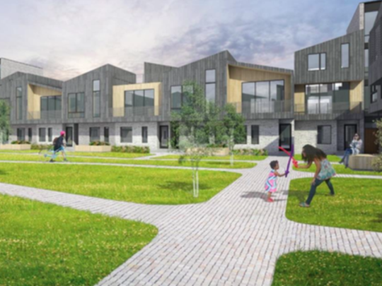 A rendering of Pullman Parc, a new development coming to Lafayette Park.