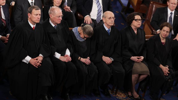 Justice Ruth Bader Ginsburg won't have to worry about