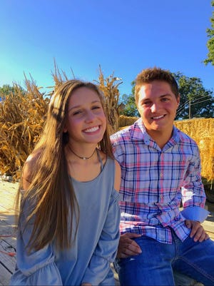 Lakyn Paschall and Chantz Book, seen here earlier this year, made it through a significant car crash on Oct. 25 between Medina and Humboldt. They haven't returned to school yet but hope to by the end of the semester.