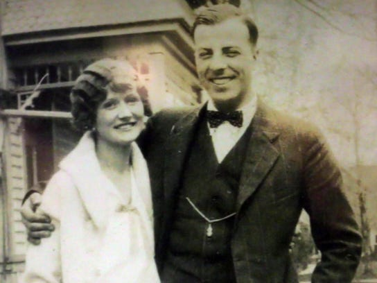Bernice and Harry Gessert are shown in the 1930s.