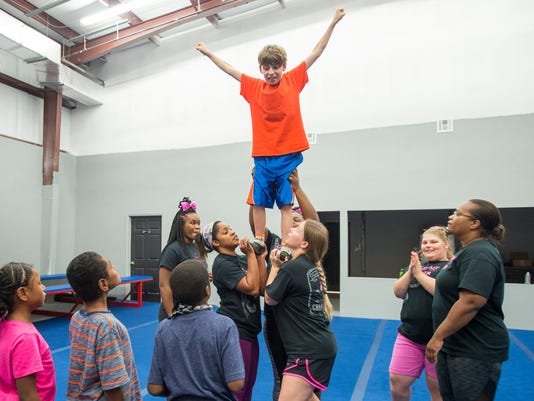 special needs cheerleading