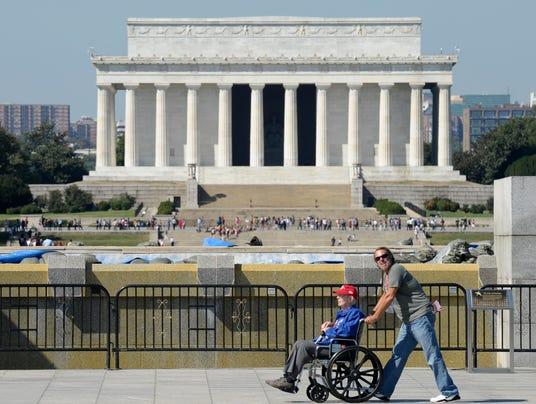AP Budget Battle Veterans Memorial