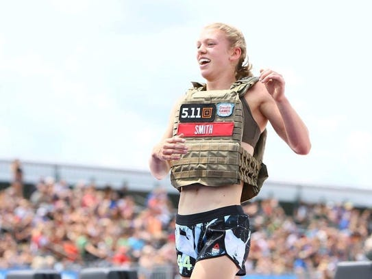 Crowley native Chloe Smith competes in the 14- 15-year-old