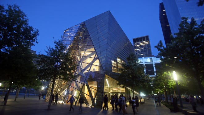 The 9/11 Memorial Museum, photographed May 18. The museum has been open to 9/11 families and first responders since last week.