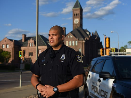 Rene Velasquez, a police officer for the City of Sioux