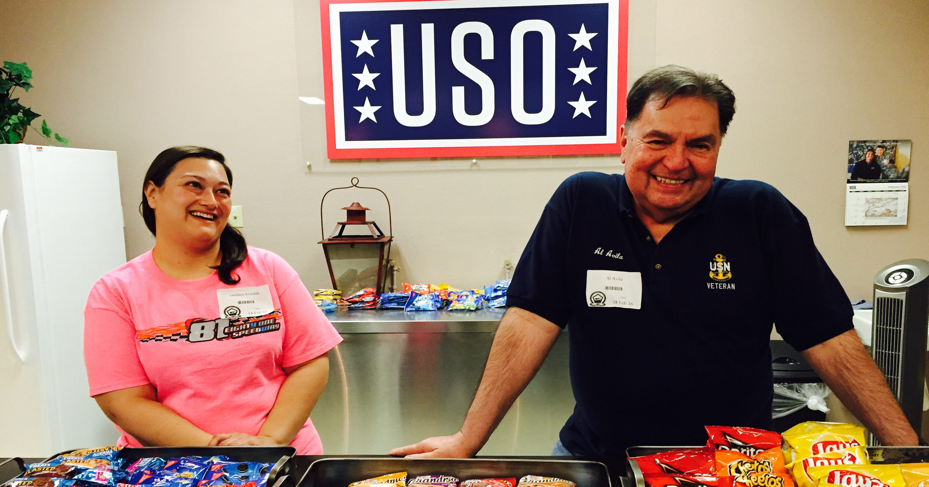 USO opens location at El Paso processing center