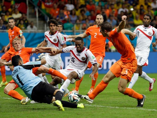 World Cup 2014 Netherlands vs. Costa Rica