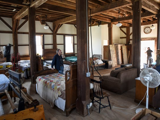 """""""We wanted to keep our living space entirely open,"""""""