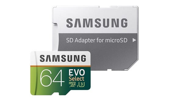 You never know when you'll need a new SD card.