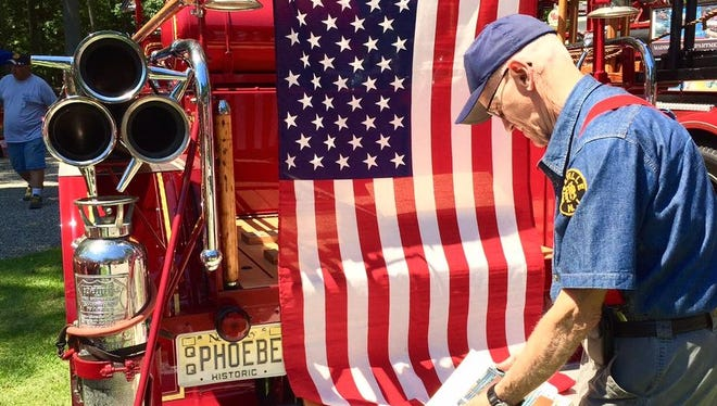 Millville Fire Department historian Dale Wettstein talks about the restoration history of the 1925 American LaFrance pumper.