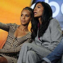 """The Hollywood Reporter says Judy Smith, the crisis expert who inspired Kerry Washingotn's """"Scandal' character, will be guiding Sony through the hacking aftermath."""