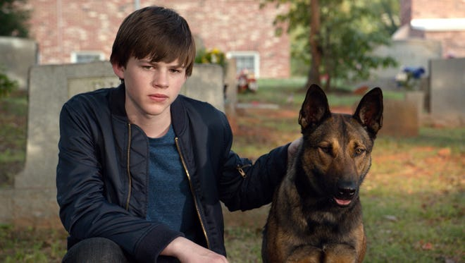 """JOSH WIGGINS as Justin Wincott with MAX in Warner Bros. Pictures and Metro-Goldwyn-Mayer Pictures' family drama """"MAX,"""" a Warner Bros. Pictures and Metro-Goldwyn-Mayer Pictures release."""