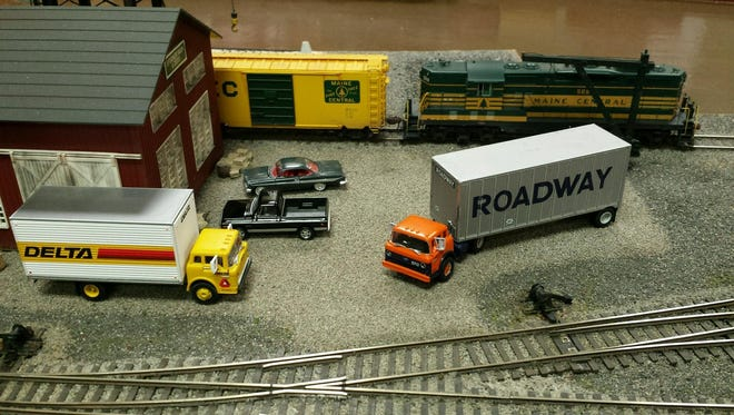 Model train display to be shown this weekend in Fremont.