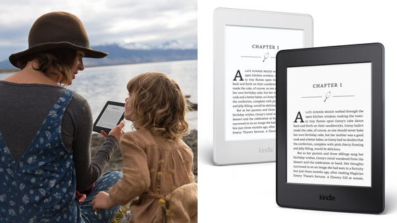 Anyone who loves to read will be thrilled to unwrap a Paperwhite e-reader.