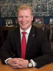 Manitowoc Mayor Justin Nickels